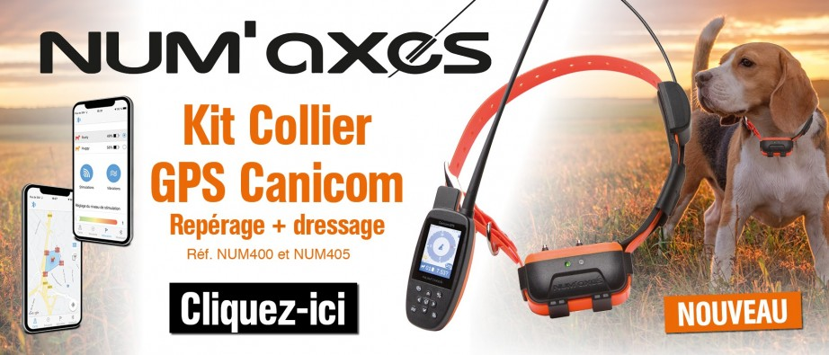 Kit collier GPS Canicom
