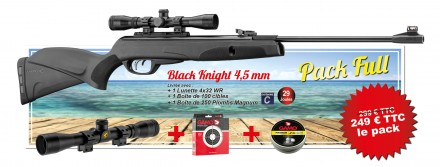 Special SUMMER Pack Gamo 2020 - Full Pack 29 J. - Black Knight rifle & accessories