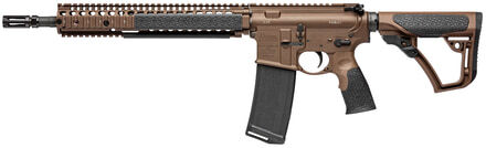 Photo Semi-automatic carbine M4A1, Mil Spec Brown gun of 14.5 '' cal. 5.56