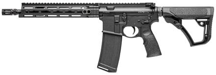Rifle M-4 semi-automatic black gun of 11.5 inches cal. 5.56
