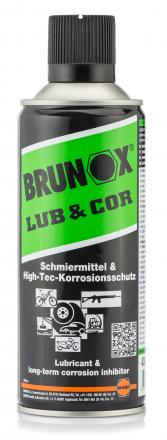 Photo Lubrifiant Brunox Lub & Cor en aérosol 400ml