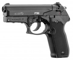 Photo Pistolet GAMO PT-80 - 4,5 m/m - 3. 98 Joules - CO2