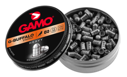 Photo Plombs G-BUFFALO ENERGY Lourds 4,5 mm - GAMO