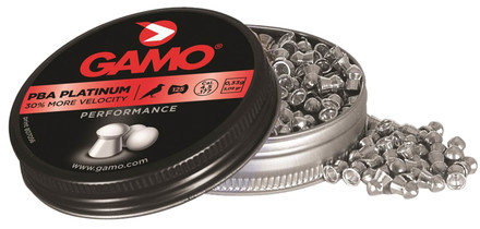 Plombs PBA PLATINUM - MORE VELOCITY 4,5 mm - GAMO