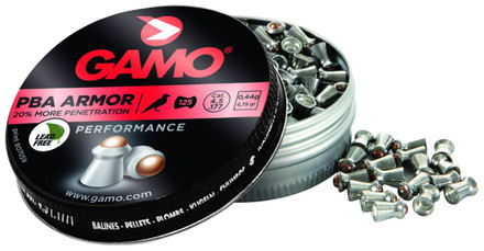 Plombs ARMOR - MORE PENETRATION 4,5 mm - GAMO