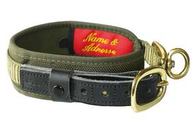 Photo Niggeloh Collier De Luxe Olive/Cognac