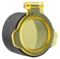 Photo Capuchon de protection lunette Kastelberg ∅ 29 à 67.6 mm, rabattable jaune