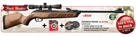 GAMO Christmas Pack 2020 - Hunter Pack 19.9 J - HUNTER Rifle & accessories