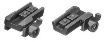 Rail mounts for Zeiss scope on lever base