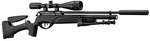 Photo G1631P-1-Gamo Pack HPA PCP +6-24x50 + Pompe + Flexible + silencieux + bipieds