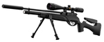 Photo G1631P-5-Gamo Pack HPA PCP +6-24x50 + Pompe + Flexible + silencieux + bipieds