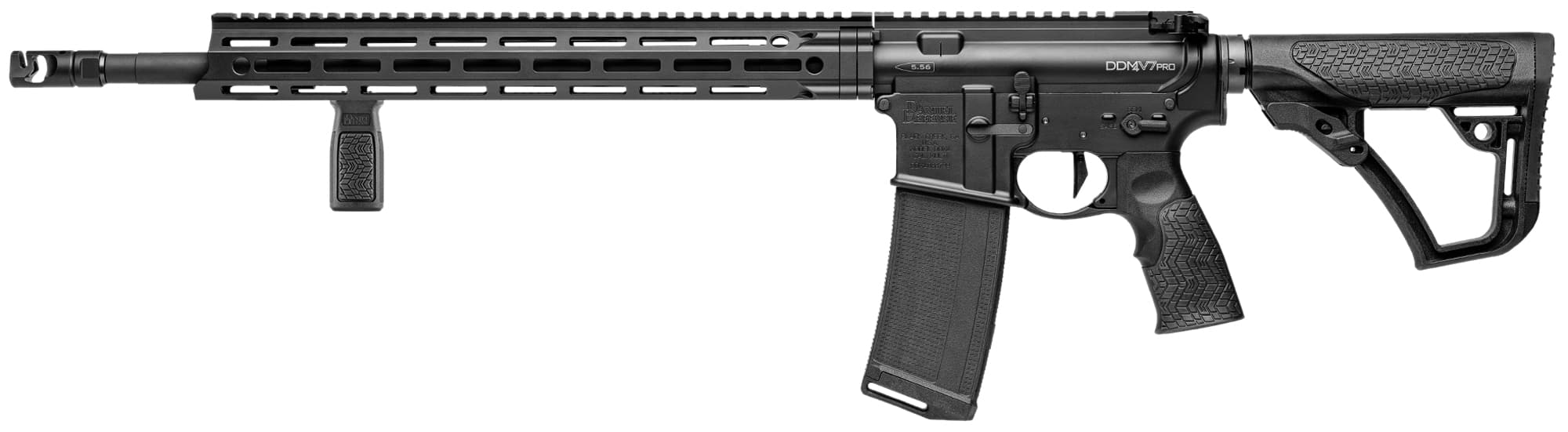 DDV7181-1-Daniel Defense DDM4V7-Pro Black 18 Barrel. Semi-Auto. Cal. 5.56 - DDV7181