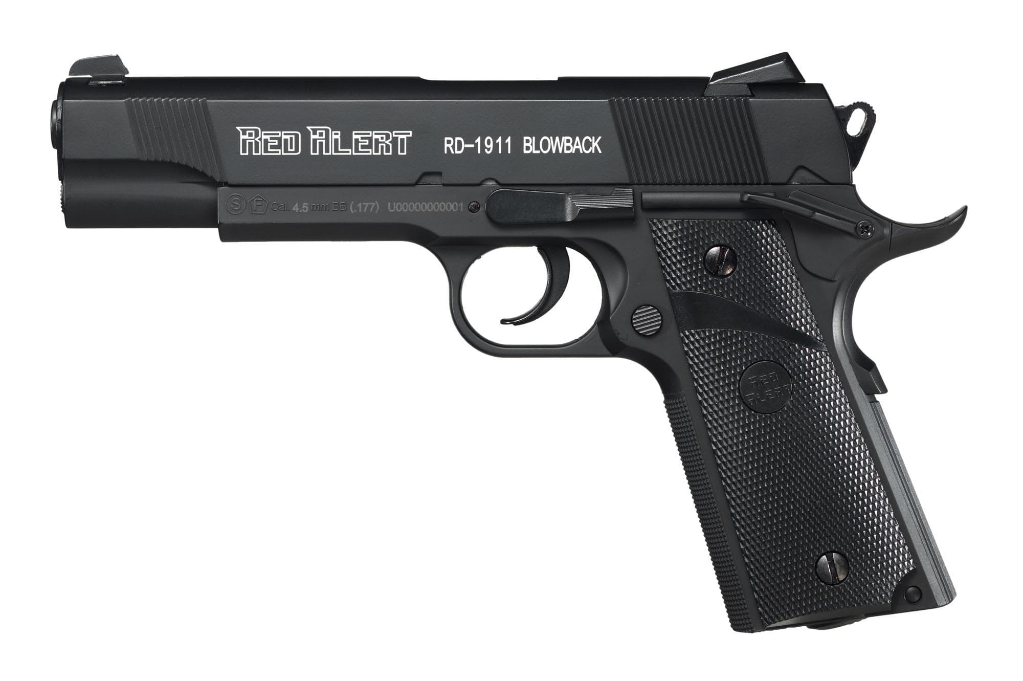 Red Alert RD-1911 blow-back - BB's - 4.5mm - 3 joules - CO2 - G2420