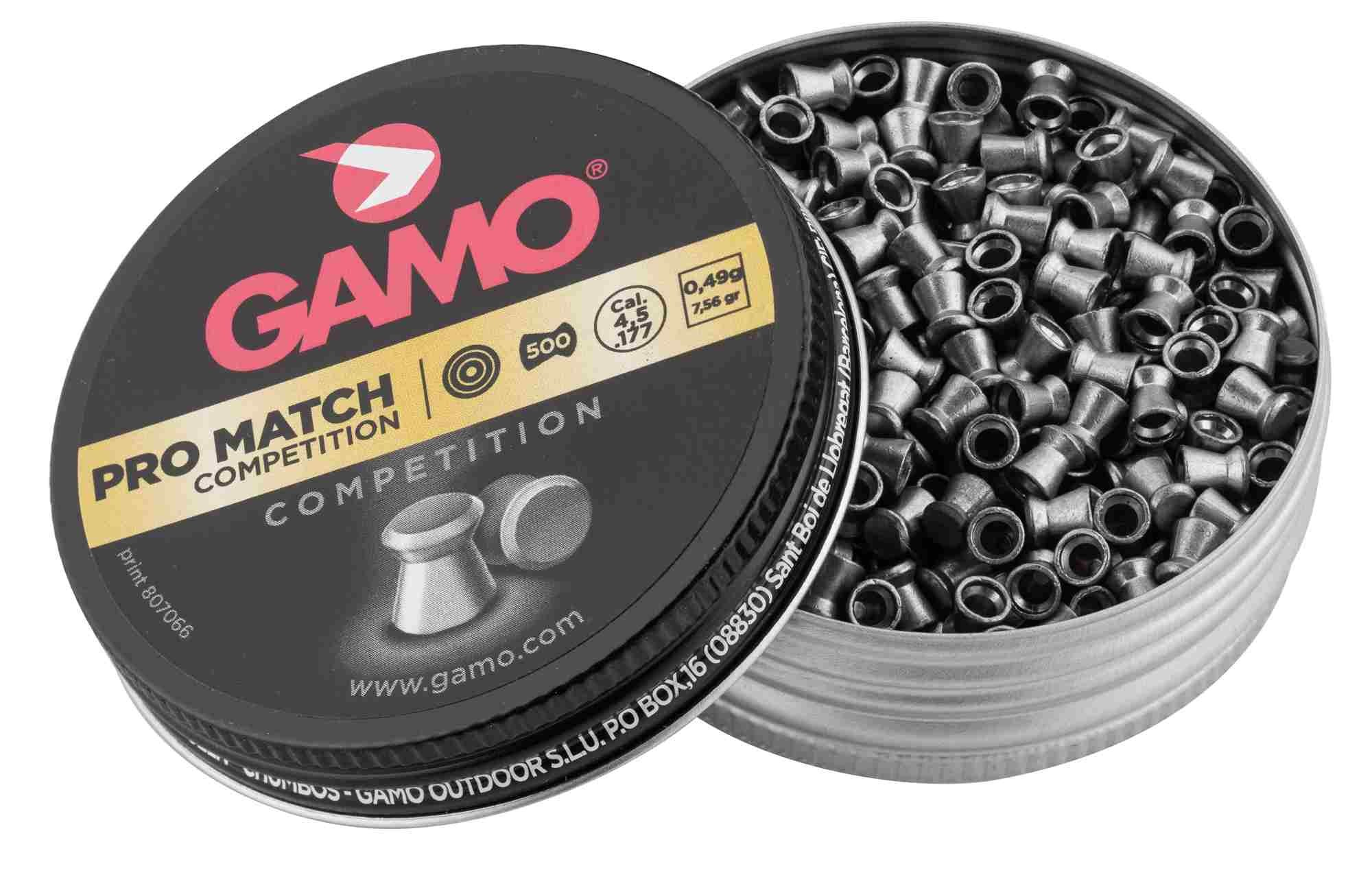 G3150-1 Plombs PRO MATCH COMPETITION 4,5 mm - GAMO - G3150