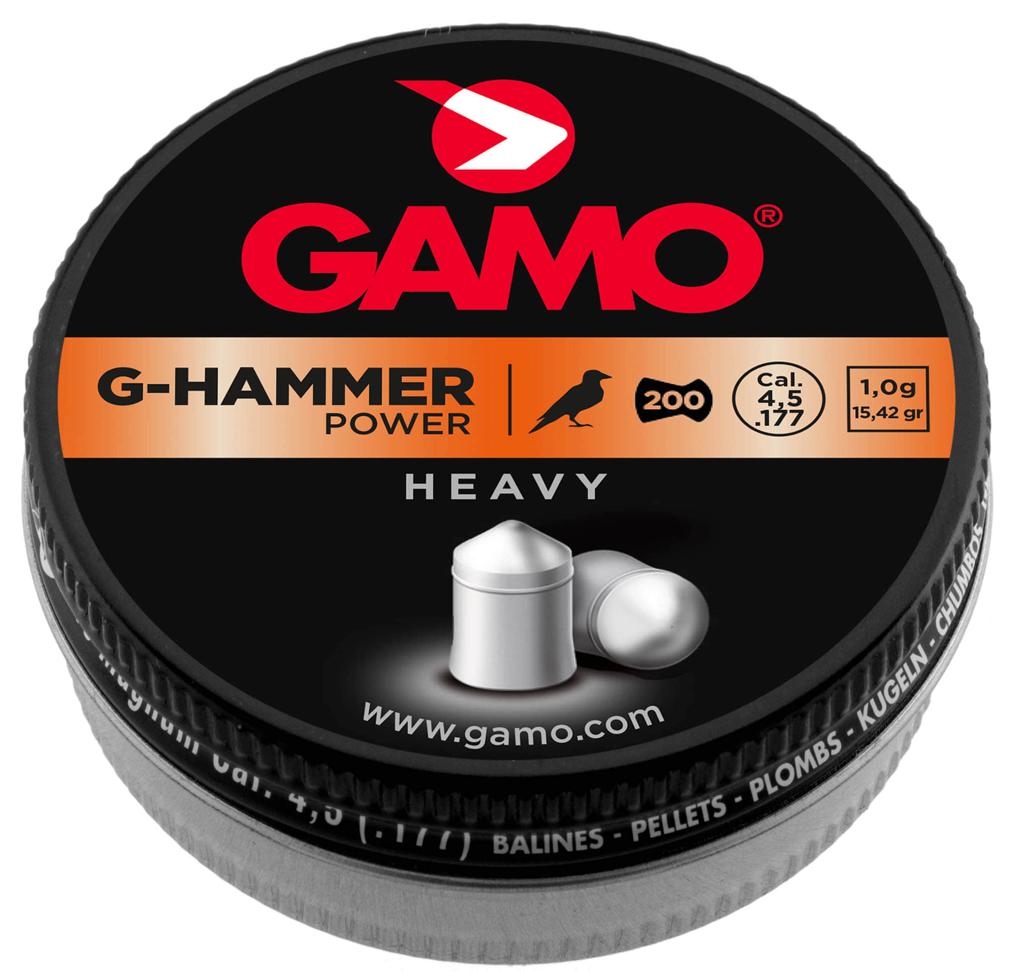 GAMO Plombs HAMMER - Energy - PLOMBS LOURDS - (200p. - cal.4.5) - G3310