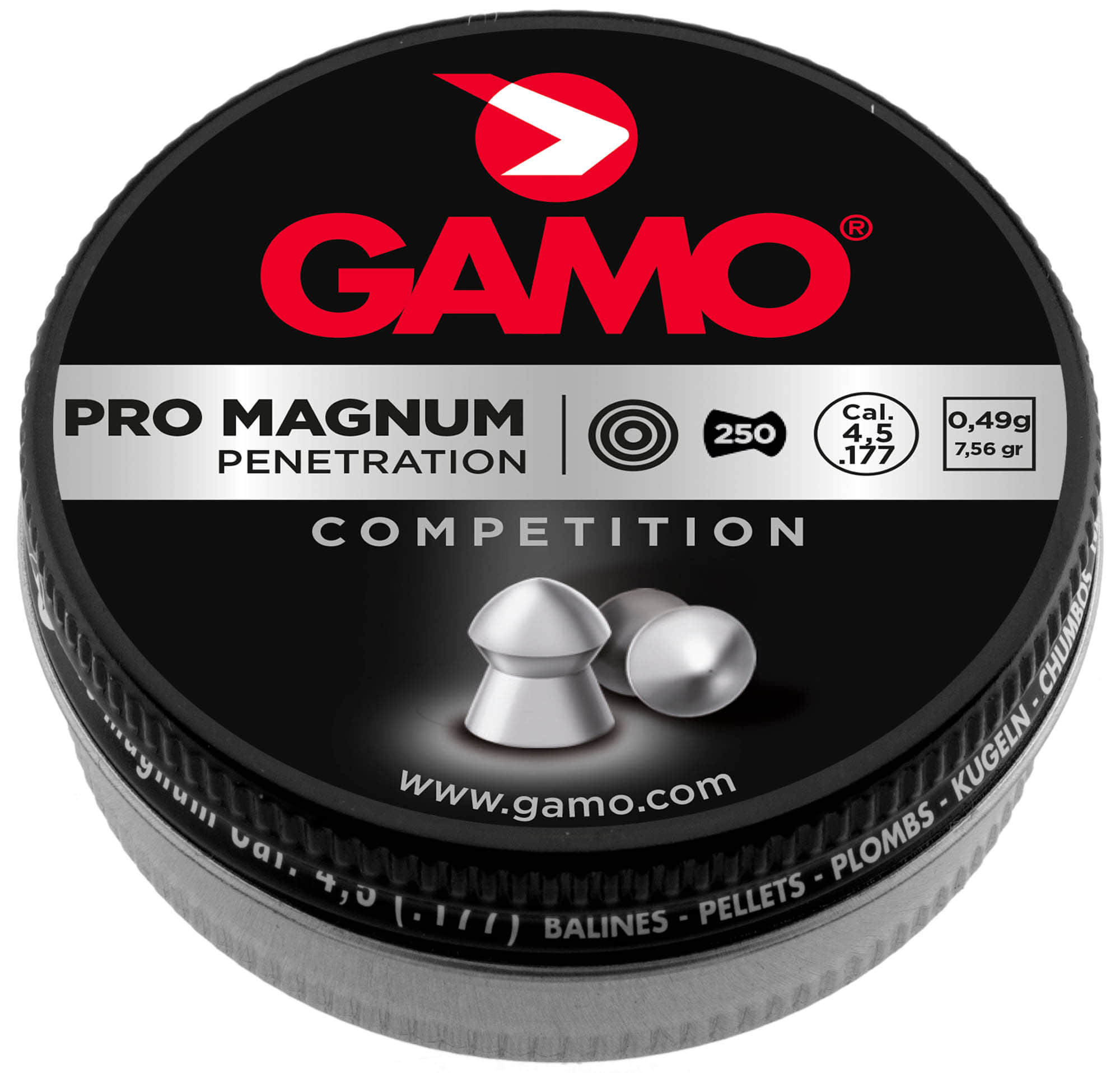 G3400-2-Plombs Match classic 5,5 mm - GAMO - G3400