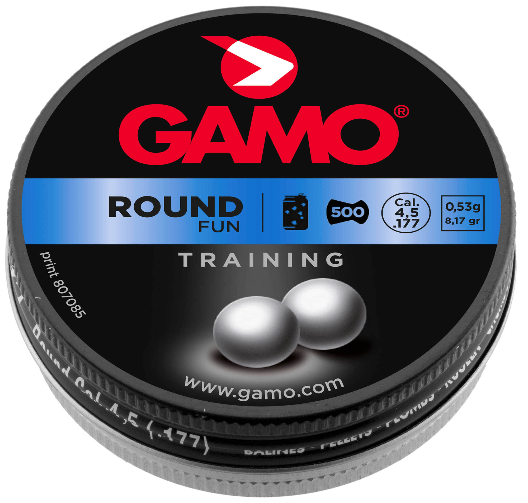 G3750-Plombs ROUND FUN 4,5 mm - GAMO - G3750