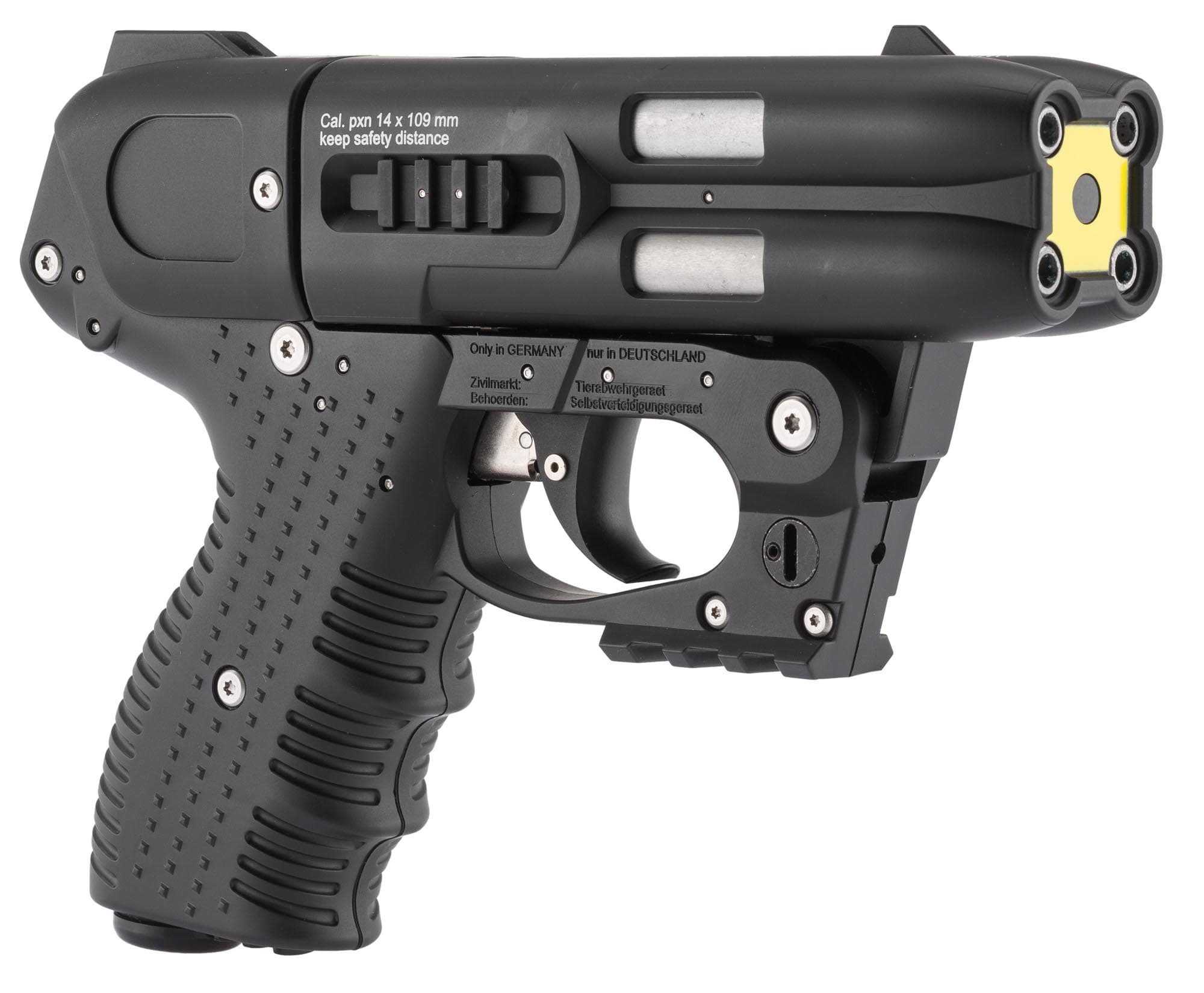 JPX151L-7-Jet JPX 4 Laser Noir Compact + 4 cartouches oc + Holster - JPX151L