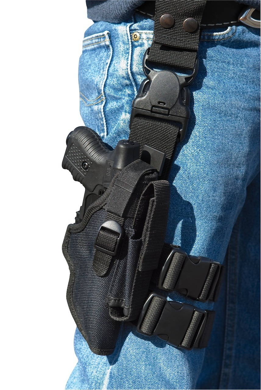 HOLSTER JPX TACTIQUE AVEC CARTOUCHIERE - JPX350