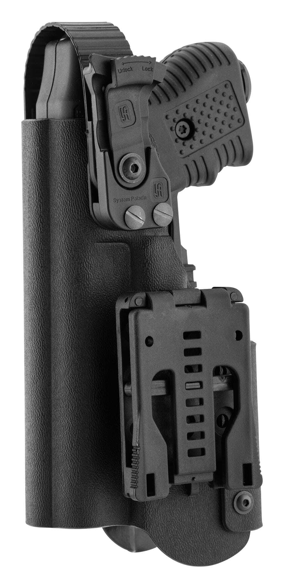 JPX390-1-Holster pour JPX - Kydex Paladin II avec lampe tactique - JPX390