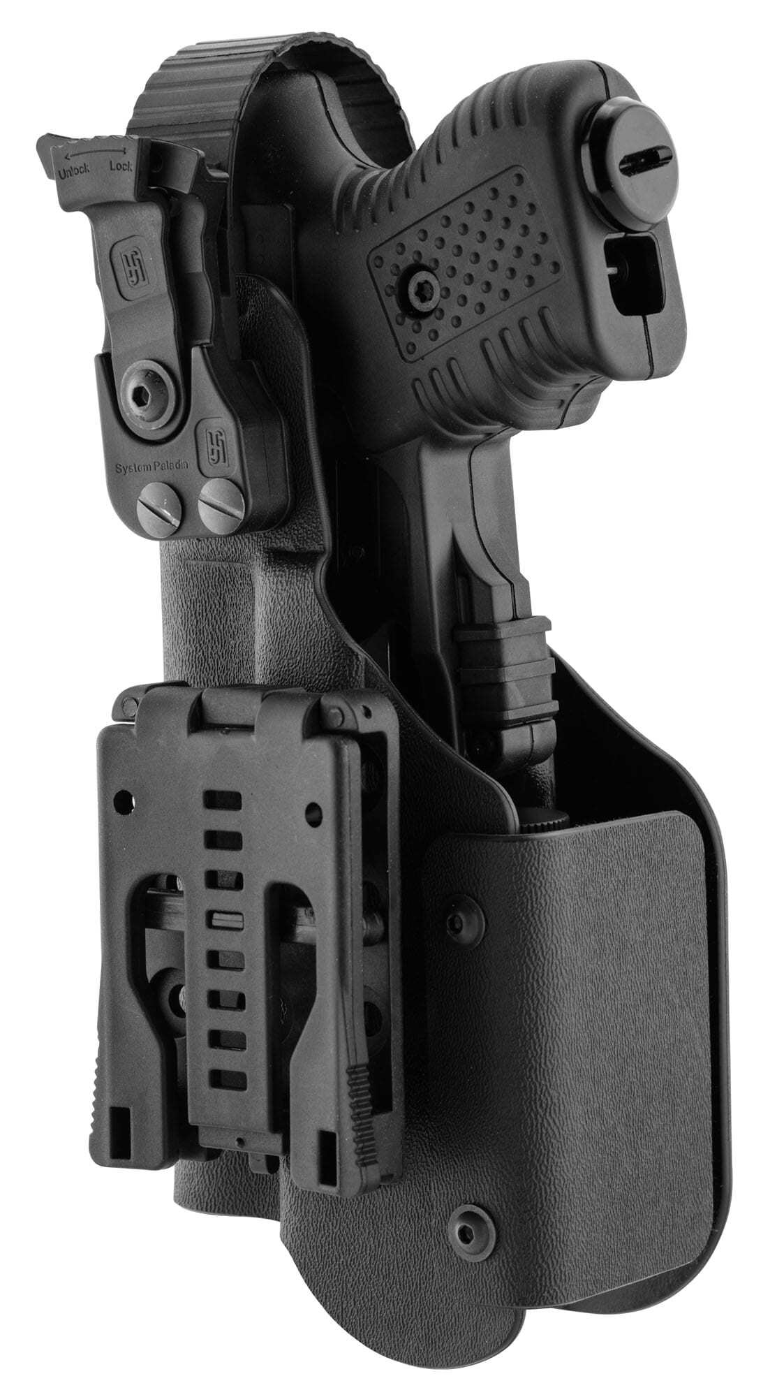 JPX390-2-Holster pour JPX - Kydex Paladin II avec lampe tactique - JPX390