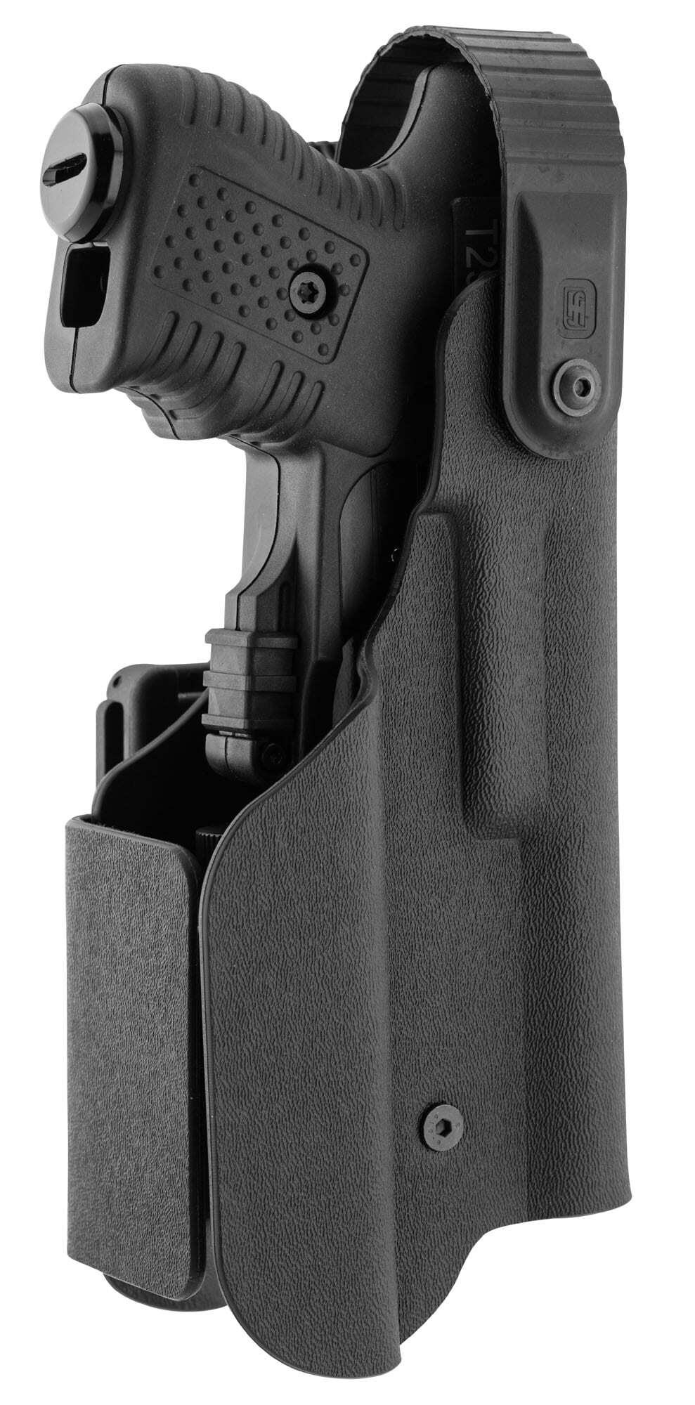 JPX390-3-Holster pour JPX - Kydex Paladin II avec lampe tactique - JPX390