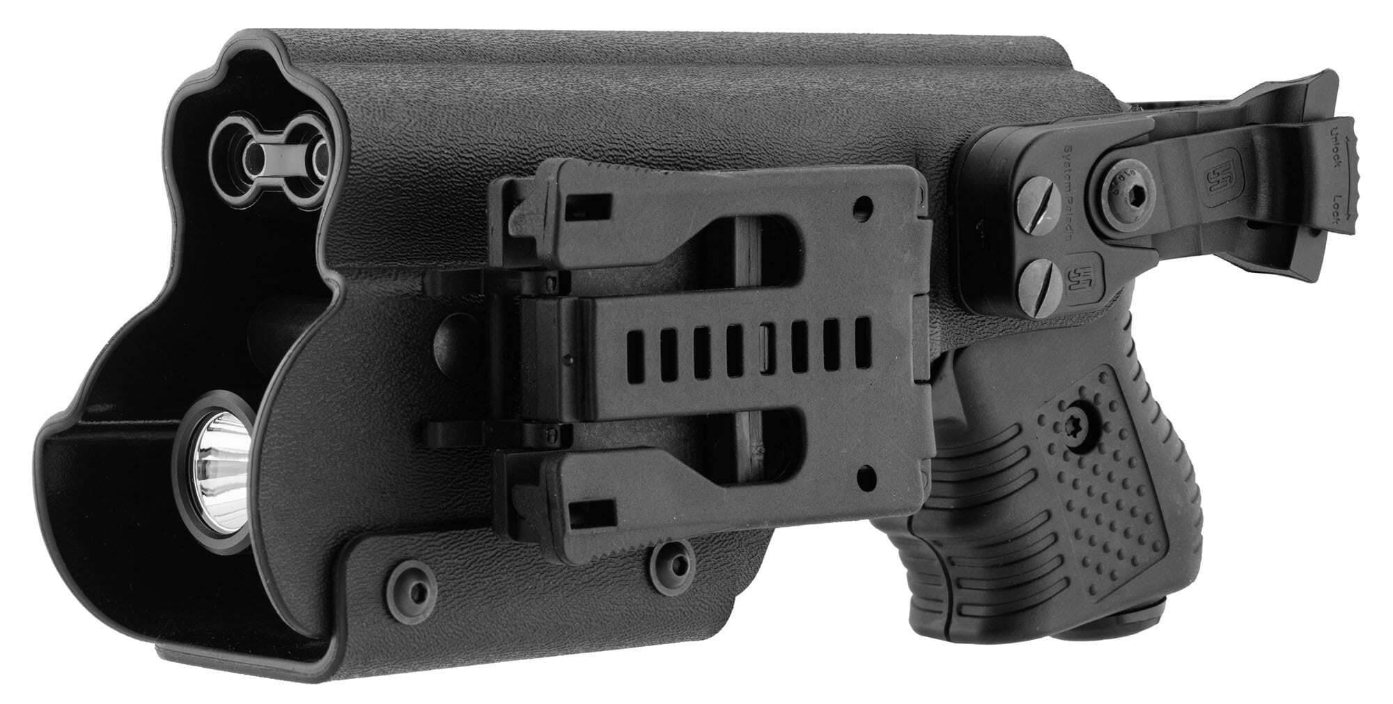 JPX390-6-Holster pour JPX - Kydex Paladin II avec lampe tactique - JPX390