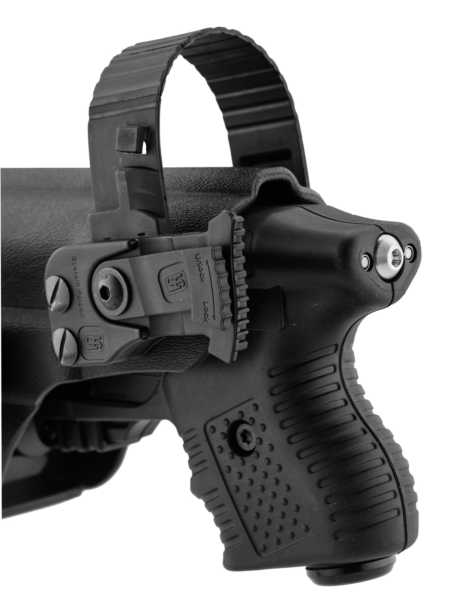 JPX390-7-Holster pour JPX - Kydex Paladin II avec lampe tactique - JPX390