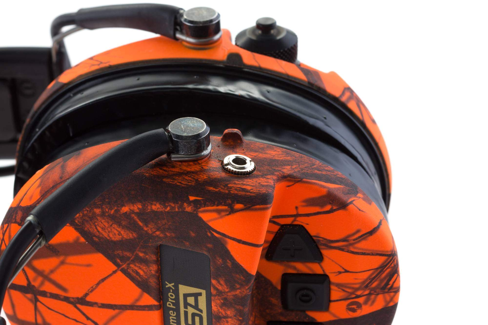CASQUE SUPREME PRO X CAMO ORANGE + Coussinets Silicone - SOR502