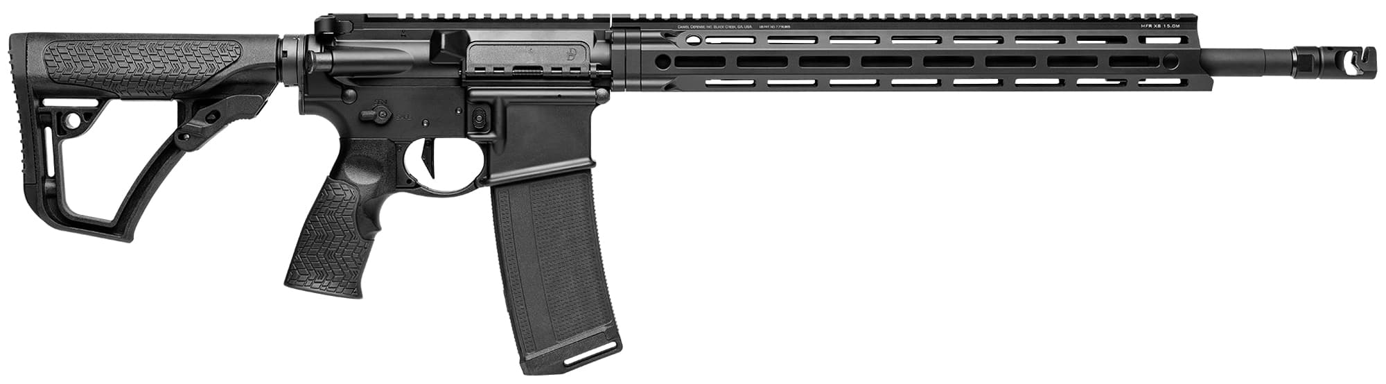 ddv7181-2-Daniel Defense DDM4V7-Pro Black 18 Barrel. Semi-Auto. Cal. 5.56 - DDV7181