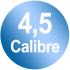 Calibre 4,5 mm
